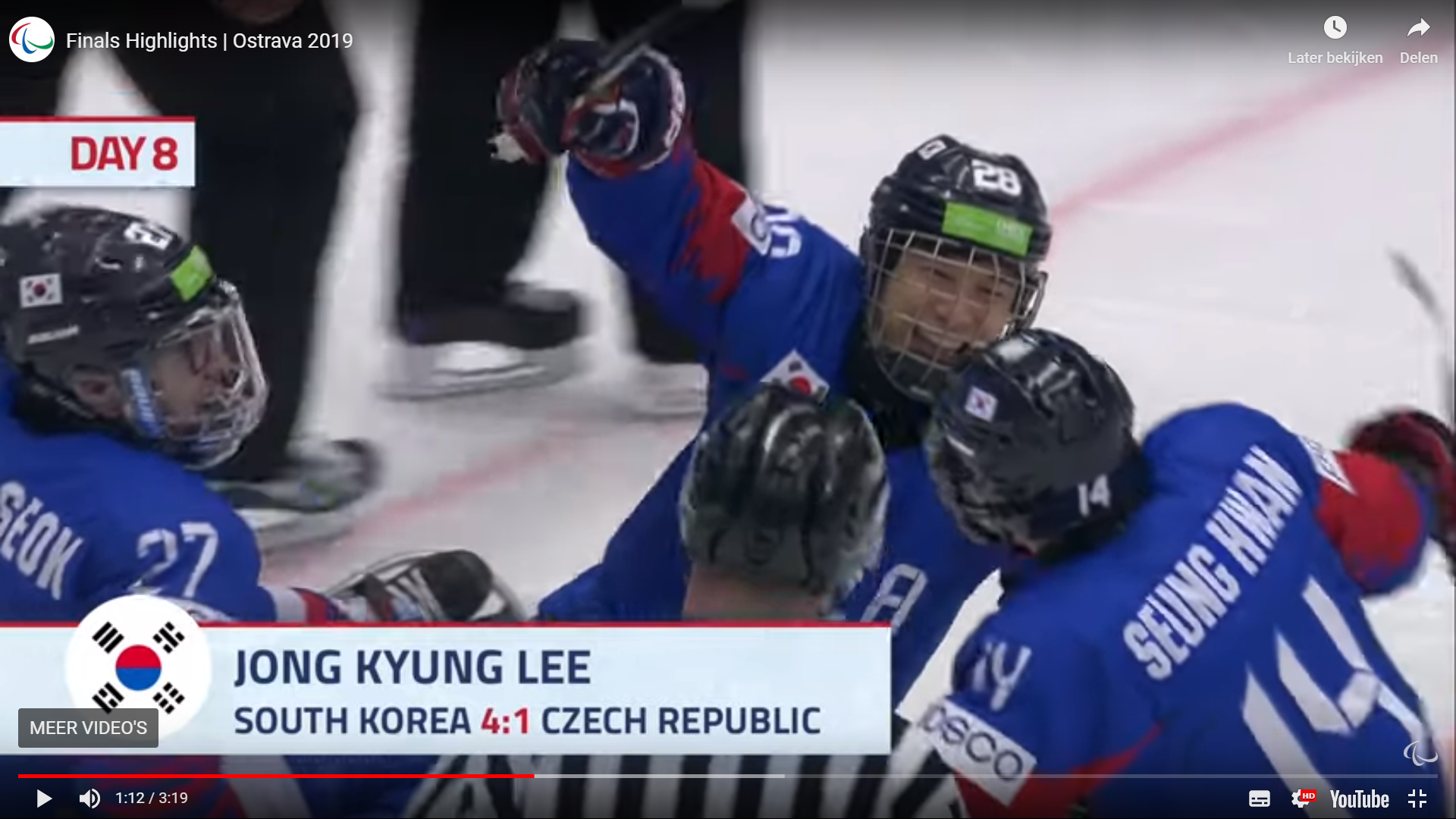 Wereldkampioenschap Sledge hockey 2019