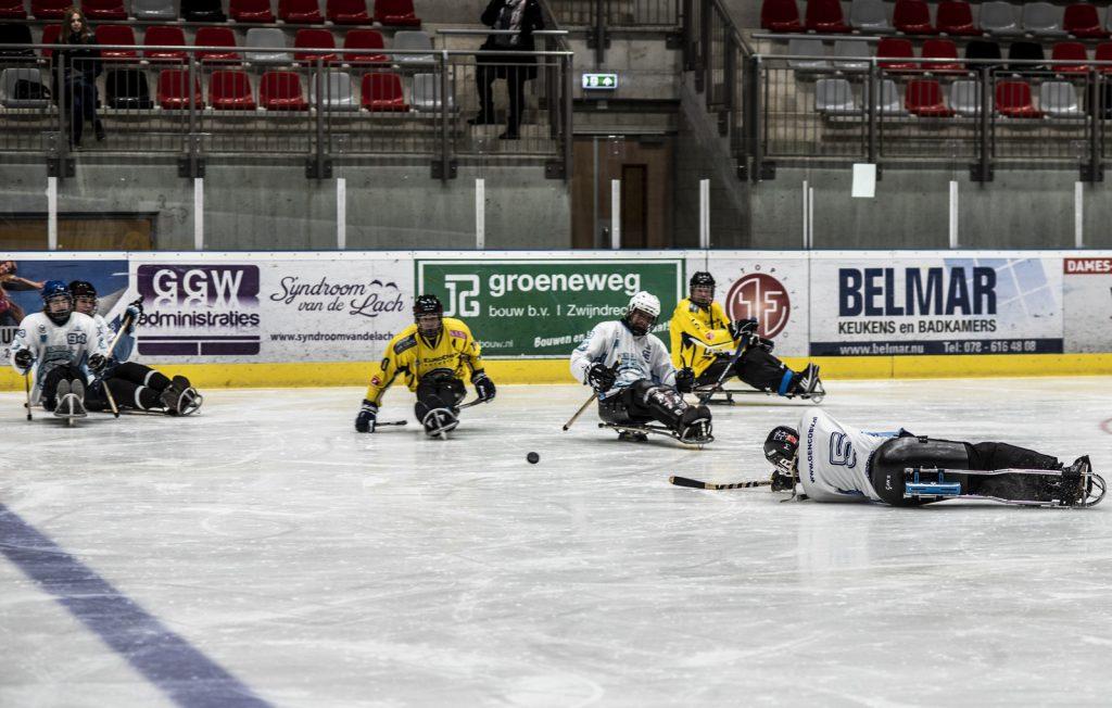 PARA ijshockey - Kom het proberen in Dordrecht of Amsterdam