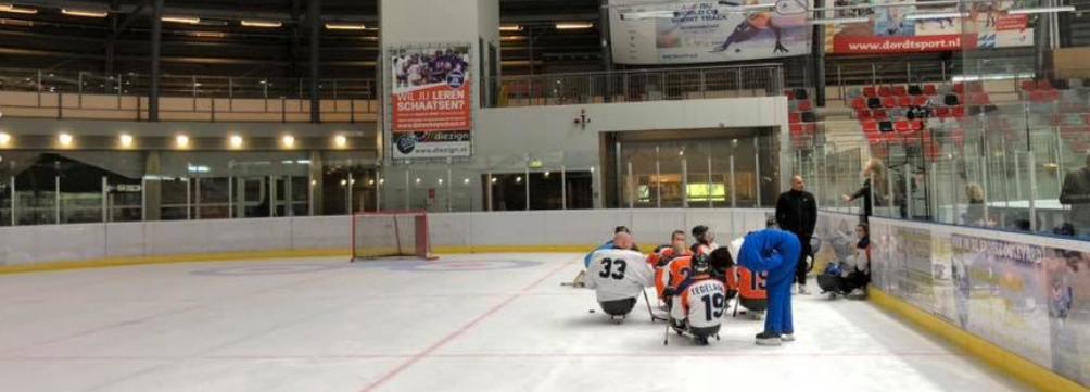 Klokhuis Para Ijshockey