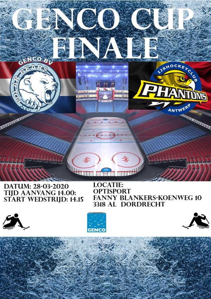 Poster Genco Cup Finale 2020.